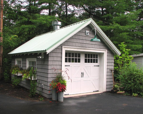 Detached garage design ideas renovations photos Detached garage remodel ideas