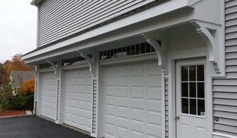 Garage roof overhang