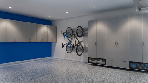Superbe What Is The Best Inexpensive Garage Wall Covering. Tileboard A No No?