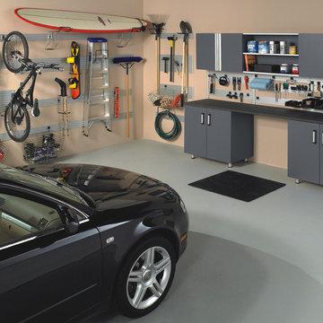 Garage Storage Organization & Garage Shelving