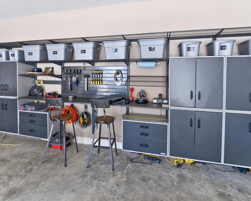 farm kitchen cabinets garage design ideas remodels amp photos 15273