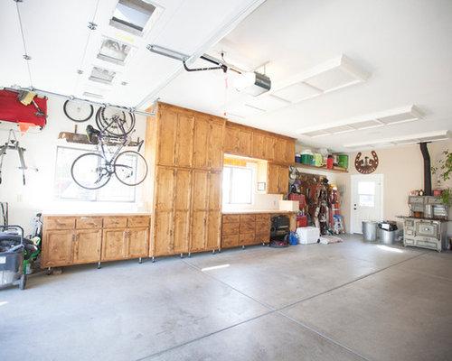 Fotos de garajes dise os de cocheras techadas cl sicas for Timberwood custom kitchens