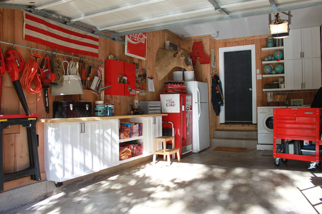 Eclectic Garage by The Cavender Diary
