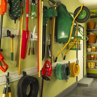 Inspiration för en funkis garage och förråd