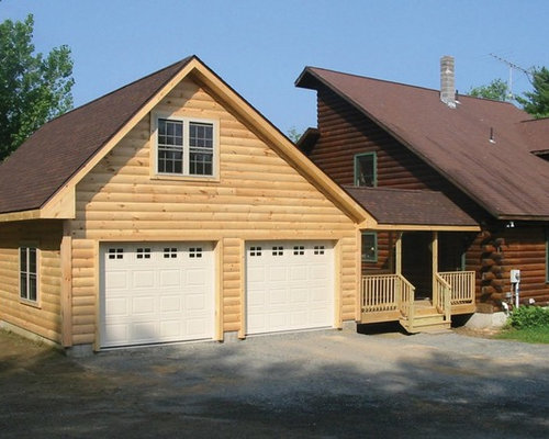 Farmhouse Angled Garage Design Ideas Remodels Photos
