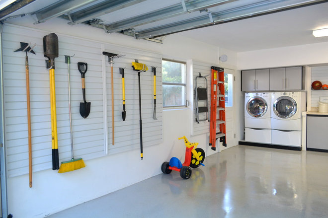 Traditional Garage by Closet Art
