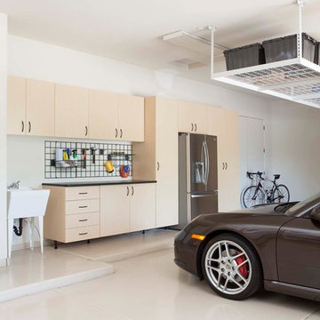 Garages- Maple Cabinets
