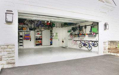 作業を細かく切りわけて。片付いたガレージを手に入れるヒント