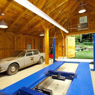 Inspiration för lantliga fristående garager och förråd