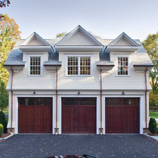Traditional Garage And Shed by Wright Building Company