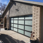 Glass Garage Doors - Modern & Contemporary -