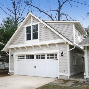 Idéer för att renovera en vintage fristående garage och förråd