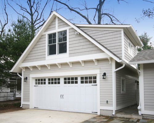 Craftsman Garage And Shed Design Ideas Pictures Remodel: detached garage remodel ideas
