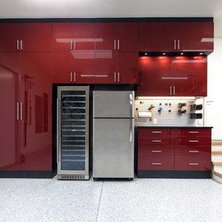 Glossy Acrylic Garage and Epoxy Floor