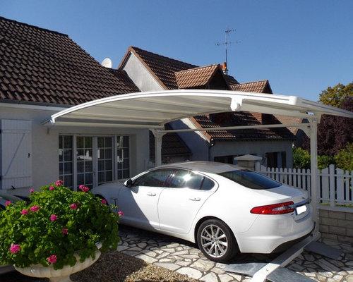 Garage moderne france photos et id es d co de garages for Garage attenant