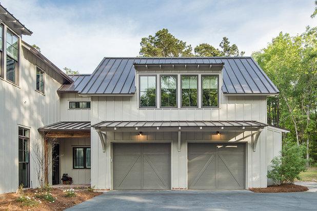 Farmhouse Garage by Farmer Payne Architects - Sun Valley