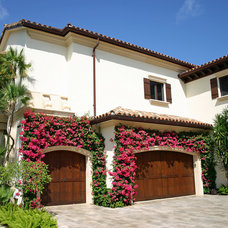 Mediterranean Garage And Shed by Martin Architect, Inc.