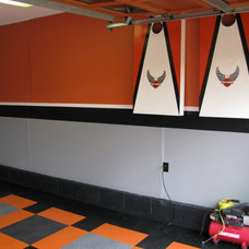 Eclectic Garage And Shed by Custom Storage Solutions