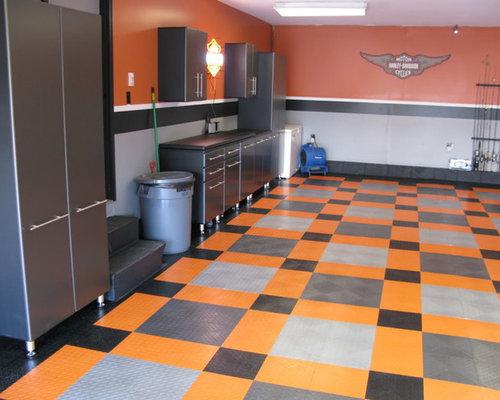 Wohnideen Houzz garage paint ideas simple garage paint ideas green white garage