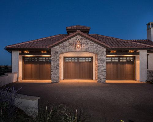 Mediterranean denver garage and shed design ideas for David hueter home designs