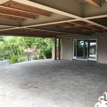 Hawaii Kai Residence - New Deck Lounge & Observation Deck