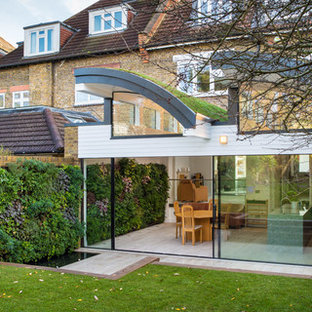 Design ideas for a medium sized contemporary garage in London.