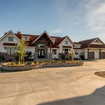 Hickman: Rustic Timberframe Home