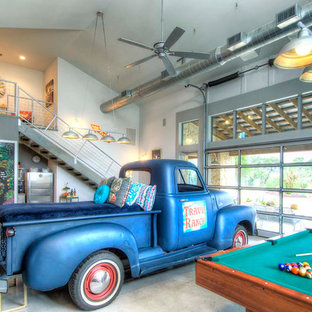 Example of a classic garage design in Austin