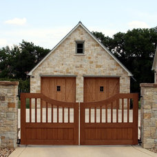 Traditional Garage And Shed by Firmitas Design