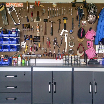 His & Hers Workbench