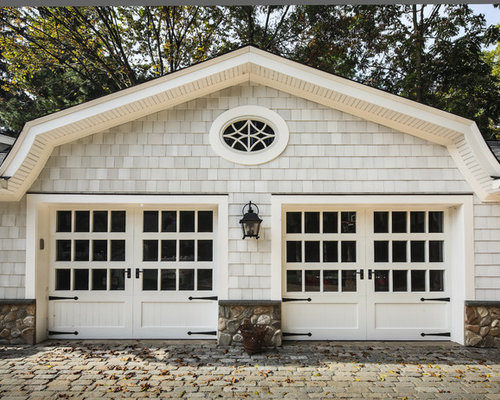 Cape cod garage ideas pictures remodel and decor for Cape cod garage doors