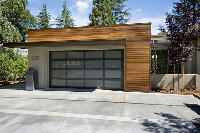 Contemporary Garage by mark pinkerton  - vi360 photography
