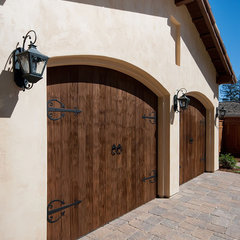 mediterranean garage and shed by mark pinkerton  - vi360 photography