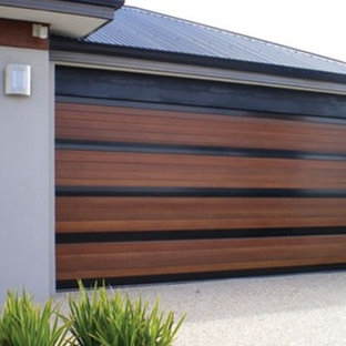 Impact Garages Wood Doors