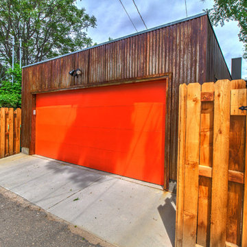 Industrial Garage and Porch