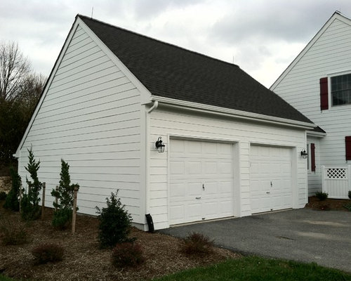 James Hardie Arctic White Siding Woodbine Md