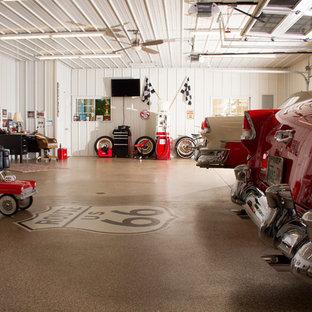 Inspiration för mycket stora klassiska trebils kontor, studior eller verkstäder