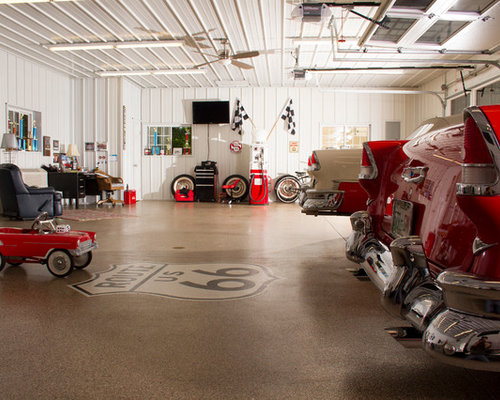 collector car garage ideas - Inside Garage Ideas Remodel and Decor
