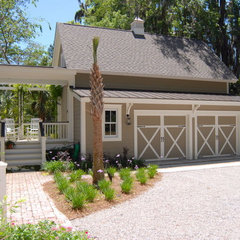 traditional garage and shed by Cole Design Studio, LLC