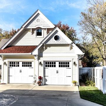 Kirkwood, MO: Matching New Garage and Exterior