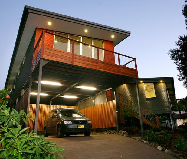 Contemporary Garage by Edifice Design - architects Sydney