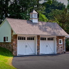 Traditional Garage And Shed by Warren Claytor Architects, Inc.