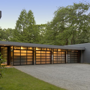 75 Beautiful Modern Four Car Garage Pictures Ideas October 2020 Houzz