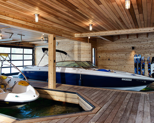 Boat storage houzz for Boat interior design ideas home