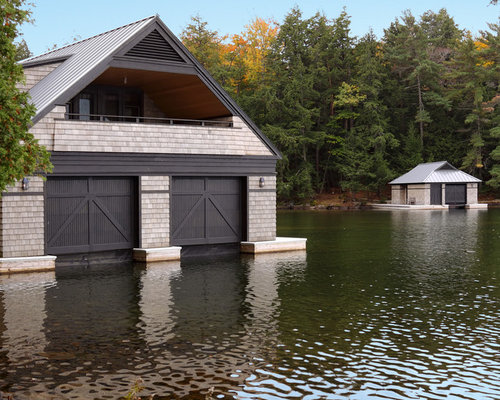 Boat Lifts Garage : Pontoon boat lifts home design ideas pictures remodel