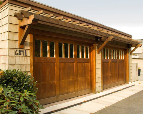 Cedar Clad Garage Doors Home Design Ideas Renovations