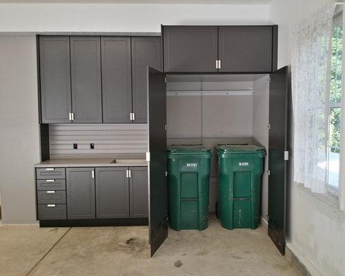 Trash Chute To Garage Houzz