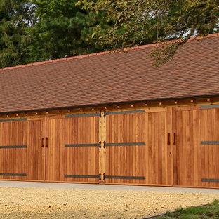 Large Oak Garage Building