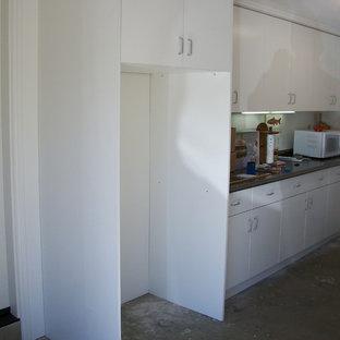 Foto di piccoli garage e rimesse classici