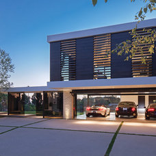 Contemporary Garage And Shed by Whipple Russell Architects